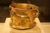 marlik Northwestern Iranian Gold Cup with a Frieze of Gazelles