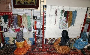 women carpet weavers