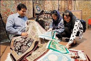 Iran carpet exibition
