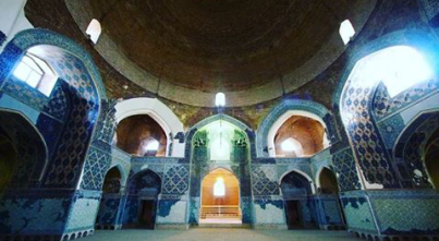 Kaboud Mosque Inside dome
